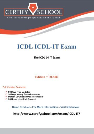 Practice icdl it exam easily with questions and answers pdf icdl it certifyschool exam actual questions pdf fandeluxe Image collections