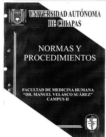 Reglamento Interno De La Facultad De Medicina Humana