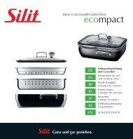 Gebrauchsanleitung ecompact - Silit