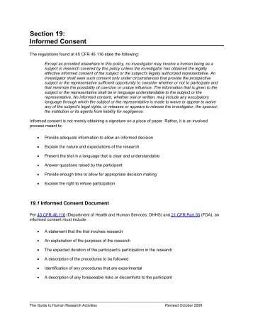 Full Irb Review Protocol Summary Form With Informed Consent