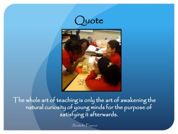 The Framework for Teaching - Prince George's County Public ...