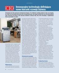 Innowacyjne technologie definiujące nowe kierunki rozwoju ... - IDG.pl