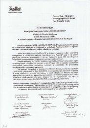 Prezes Rady Ministrów - NSZZ Solidarność