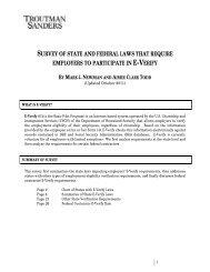 our Immigration Practice Group's complete E-Verify survey
