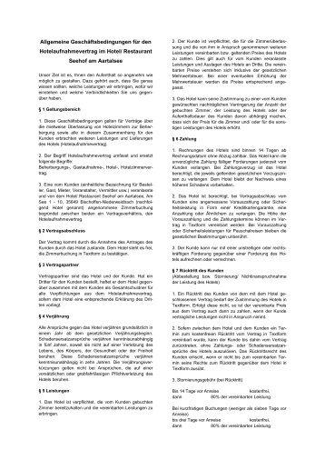 Download der AGB im pdf-Format - Seehof am Aartalsee