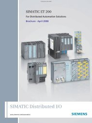 SIMATIC ET 200 - For Distributed Automation Solutions - IATC
