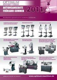 CNC-Technik - Optimum Maschinen