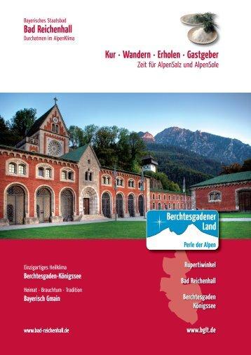 Bad Reichenhall Kur · Wandern · Erholen · Gastgeber