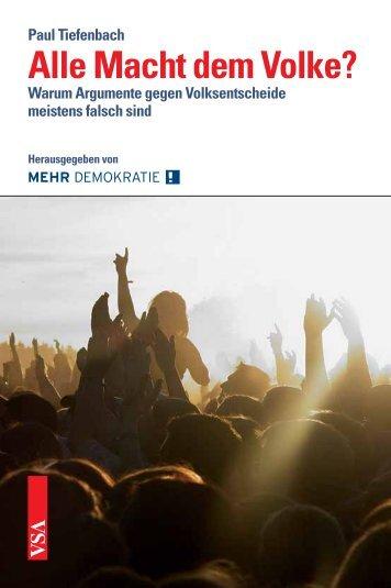 Alle Macht dem Volke? - VSA Verlag