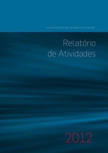 Relatório de Atividades 2012 - Utad