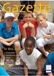 October 2006 - The Boys' Brigade