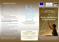 Tecnico del Restauro di Beni Culturali - ENGIM VENETO formazione ...