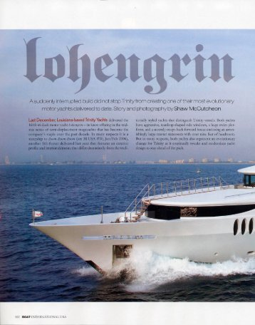 Boat International USA - Trinity Yachts