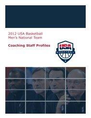 2012 USA Basketball Men's National Team Coaching Staff Profiles