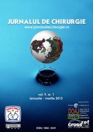 PDF (5 MB) - Jurnalul de Chirurgie