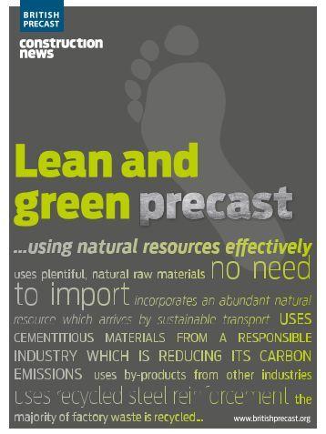 Lean and green precast - British Precast