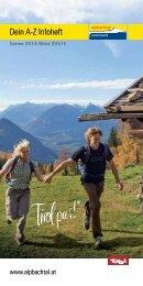 Alpbach A-Z 2013_Layout 1 - Alpbachtal