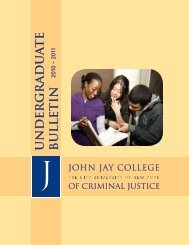 Bulletin - John Jay College Of Criminal Justice - CUNY