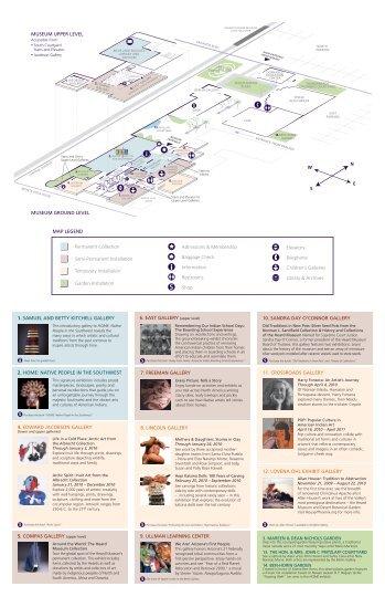 MAP LEGEND Permanent Collection Semi ... - Heard Museum