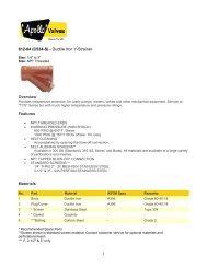 Technical Sheet - 612-04
