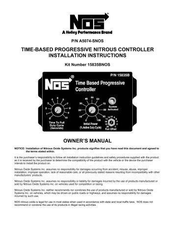 Nos mini 2 stage progressive controller mps racing time based progressive nitrous controller mps racing sciox Images