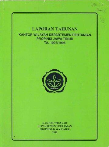 laporan tahunan - Badan Perpustakaan dan Kearsipan Provinsi ...