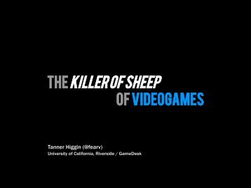 TheKiller of Sheep - Gaming the System