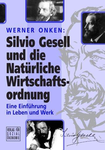 WERNER ONKEN - Silvio Gesell