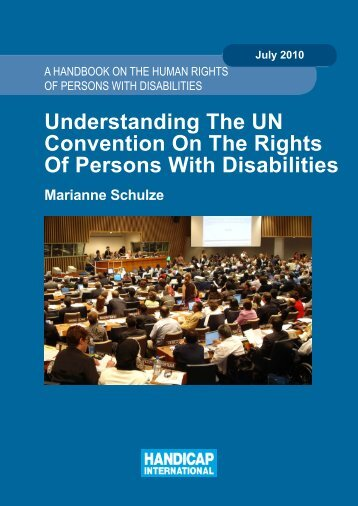 Understanding The UN Convention On The Rights Of Persons With ...