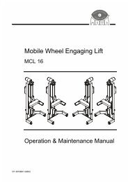 Mobile Wheel Engaging Lift - aesco