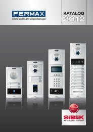 Fermax Katalog 2012
