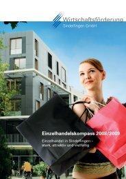 Einzelhandelskompass 2008/2009 - Wirtschaftsförderung ...