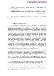 Diez Razones Para No Construir Más Cárceles.pdf - Justicia Forense