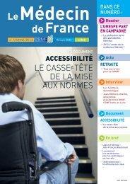 Médecin de France n°1182 - CSMF