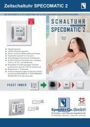 Zeitschaltuhr SPECOMATIC 2 - Specht+Co. GmbH / Jolly Motor