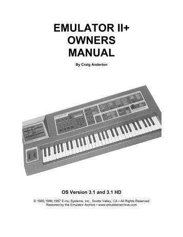 yamaha cs6x manual