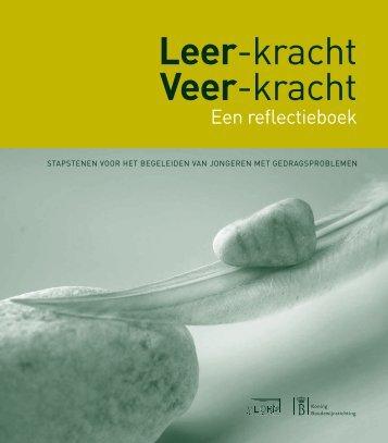 Leer-kracht Veer-kracht Een reflectieboek - Vlor
