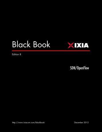 Ixia Black Book: SDN/OpenFlow