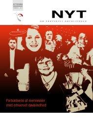 NYT om erhvervet døvblindhed 2011 nr. 3