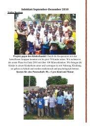 Infoblatt September-Dezember 2010 - Madamfo Ghana