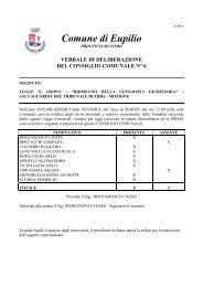 Delibera CC 6: LEGGE N. 148/2011 - Comune di Eupilio