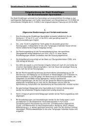 I. Entgeltordnung der Stadt Sindelfingen für die kommunalen ...