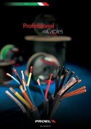 PROFESSIONAL ASSEMBLEd CABLES - Proel