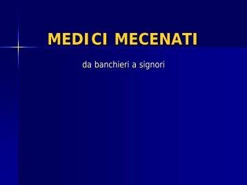 MEDICI MECENATI