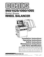 Coats 950 Wheel Balancer - NY Tech Supply