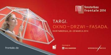 21– 24 marca 2012 w Norymberdze! - fensterbau/frontale