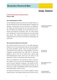PDF: 41 KB - Deutsches Netzwerk Büro