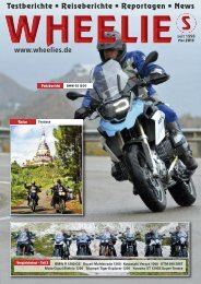 BMW GS 1200 - Wheelies