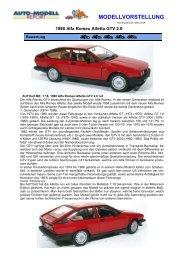 1980 Alfa Romeo Alfetta GTV 2.0 rot