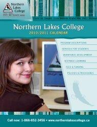 2010/2011 calendar - Northern Lakes College